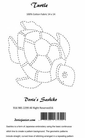 Turtle Sashiko