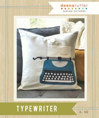 Typewriter Applique