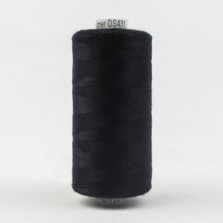 Designer All Purpose Polyester 40wt 1000m Black