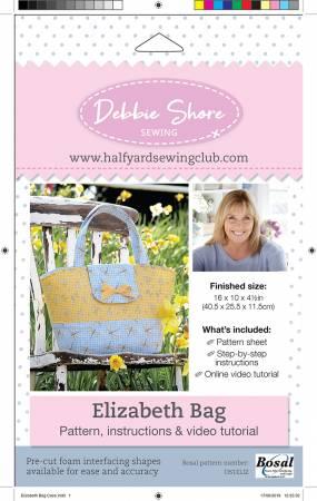 Debbie Shore Elizabeth Bag pattern
