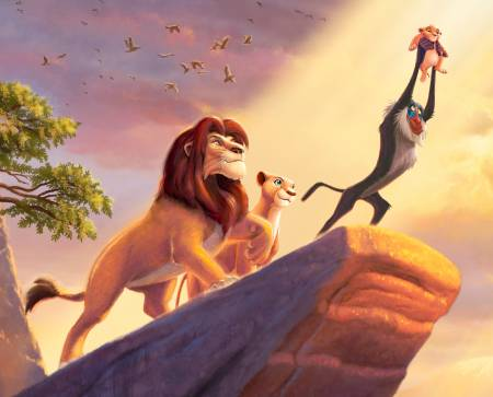 Disney Dreams The Lion King 36in Panel