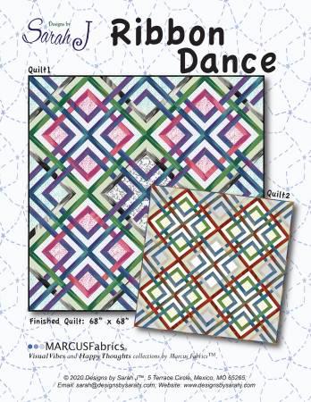 Ribbon Dance PATTERN by Sarah J