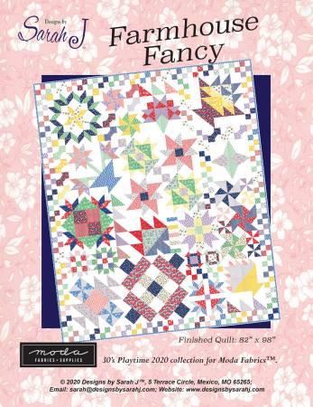 Farmhouse Fancy Pattern by Designs by Sarah J