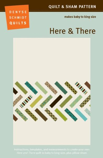 Here & There Quilt Pattern by Denyse Schmidt