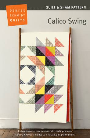 Calico Swing Quilt Pattern by Denyse Schmidt