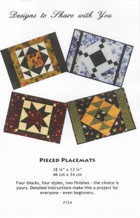 Pieced Placemats