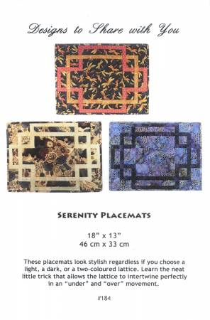 Serenity Placemats
