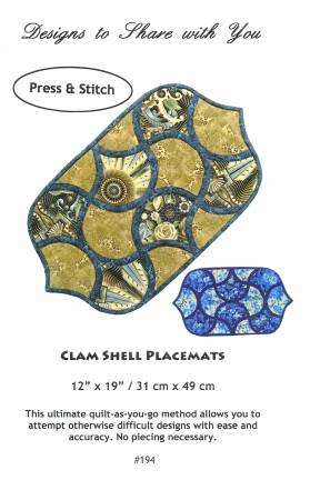 Clam Shell Placemat