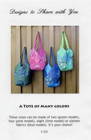 Pattern A Tote Of Many Colors
