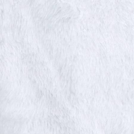 White Heavenly Plush Solid Fleece 60in wide
