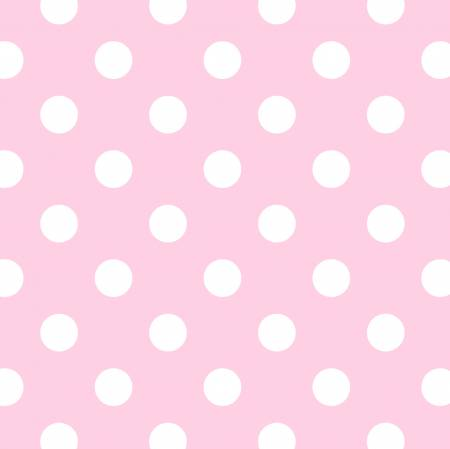 Pink Fun Dots Flannel