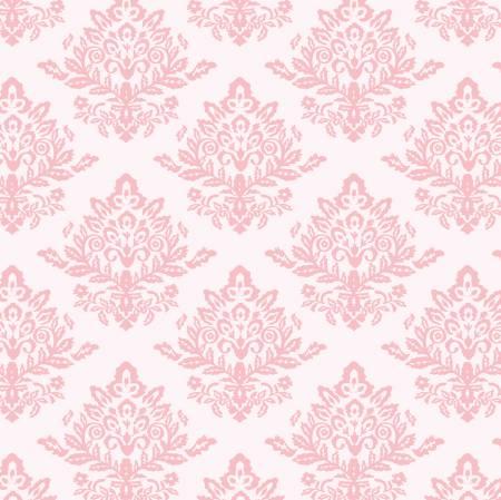 Pink Velvet Damask