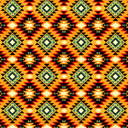 SOUTHWEST ARGYLE YELLOW/ORANGE DT52247C4 David Textiles