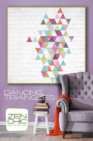 Dancing Triangles - Zen Chic