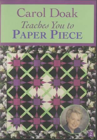 DVD Carol Doak Teaches You to Paper Piece