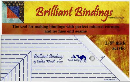 Brilliant Bindings Tool 1/8in for Quilters