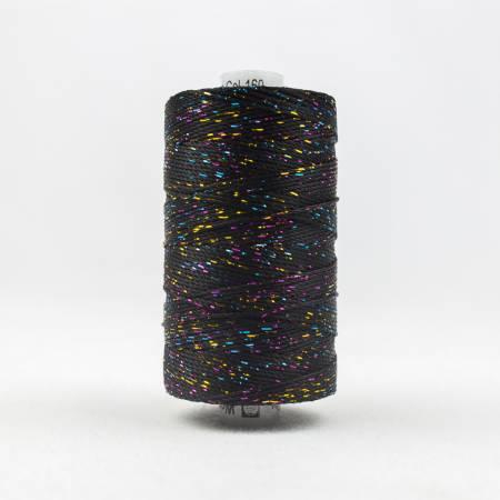 DZ-160 Dazzle 8wt Metallic 183m Black/Multicolor