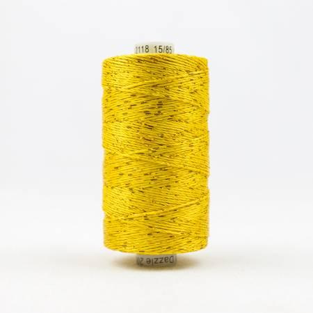 DZ-2118 Dazzle 8wt Metallic 183m Sunny Yellow