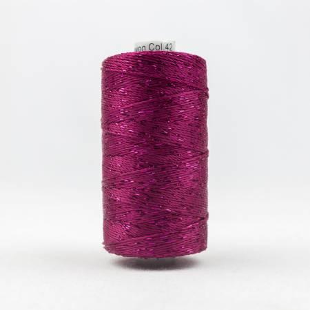 Dazzle 8wt Metallic 183m Raspberry