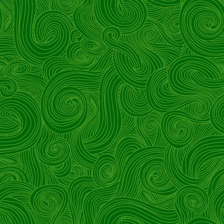 Just Color: Green Swirl