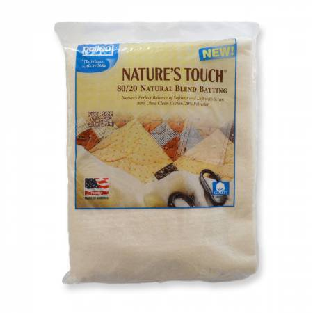 Pellon Natures Touch Natural Blend 80/20 Batting Full-Sized 81in x 96in