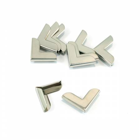 Metal Corners 1 x 1 Nickel