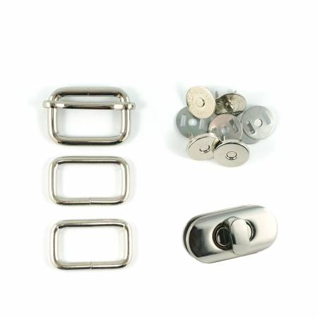 Butterfly Sling Hardware Kit - Nickel