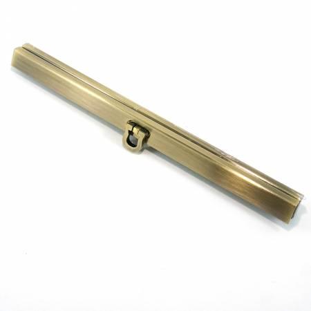 Wallet Closure 7 1/2in wide in Antique Brass