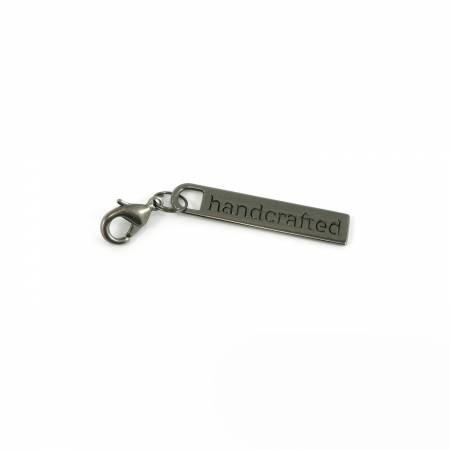 Zipper Pull Gunmetal - Handcrafted