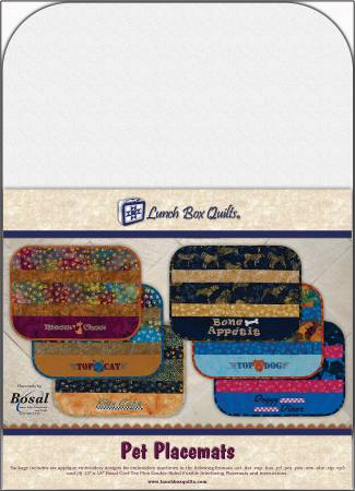 CD Pet Placemats Embroidery Designs