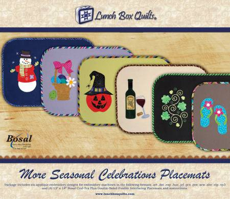 More Seasonal Celebrations Placemats With CD