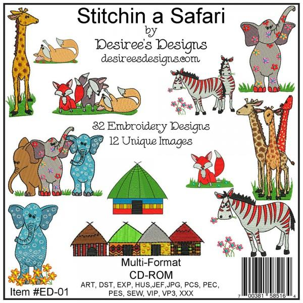 Stitchin A Safari