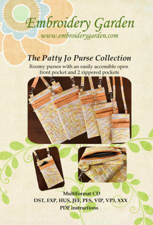 Embroidery Garden Patty Jo Purse Collection