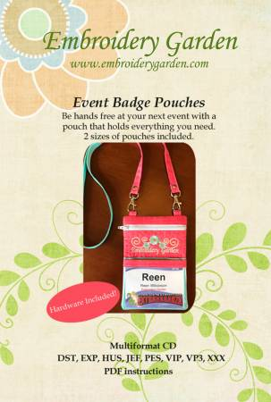 Event Badge Pouches