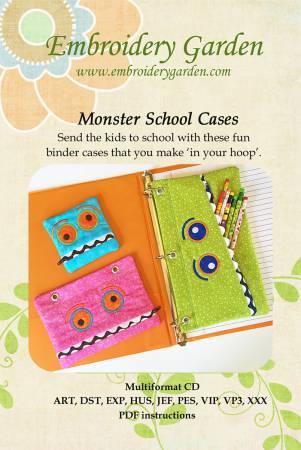 Monster School Cases CD
