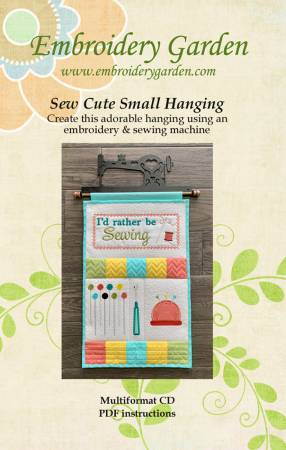 Sew Cute Small Hanging Embroidery