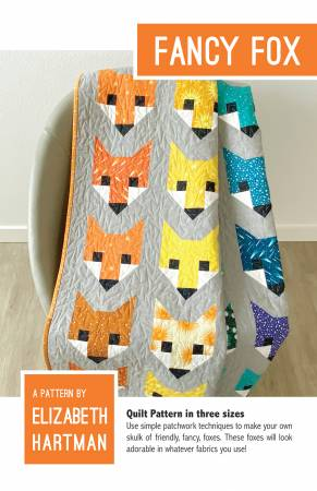 Fancy Fox Quilt Pattern by Elizabeth Hartman EH-009