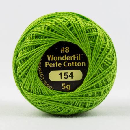 Eleganza 8wt 5-Gram Solid Perle Cotton Ball 42yd Golden Delicious
