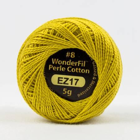 Eleganza 8wt 5-Gram Solid Perle Cotton Ball 42yd Lion's Mane