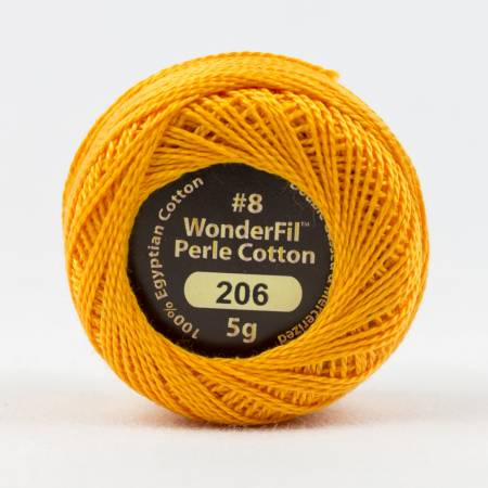 Eleganza 8wt 5-Gram Solid Perle Cotton Ball 42yd  Copper