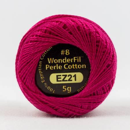Eleganza 8wt Solid Perle Cotton 21 Let's Pink!