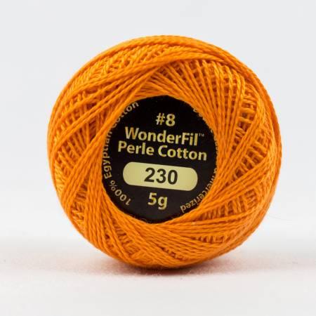 Eleganza 8wt 5-Gram Solid Perle Cotton Ball 42yd Ochre