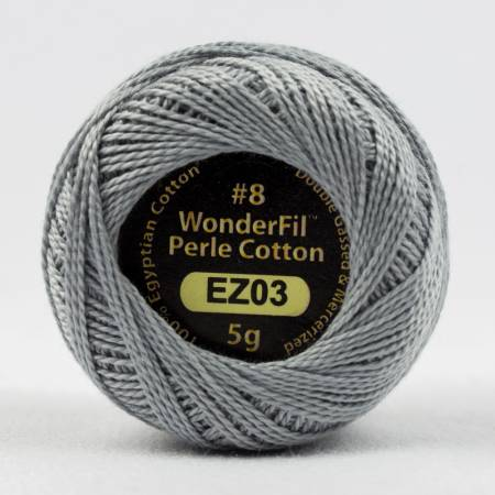 Eleganza 8wt Solid Perle Cotton 03 Tumbled Stone