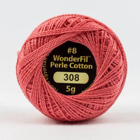 Eleganza 8wt 5-Gram Solid Perle Cotton Ball 42yd Cinnabar
