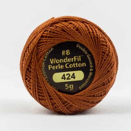Eleganza 8wt 5-Gram Solid Perle Cotton Ball 42yd Tenne