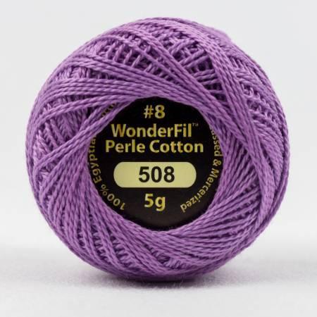 Eleganza 8wt 5-Gram Solid Perle Cotton Ball 42yd Fuchsia