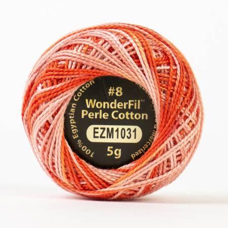 Eleganza 8wt 5-Gram Variegated Perle Cotton Ball 42yd Opera House