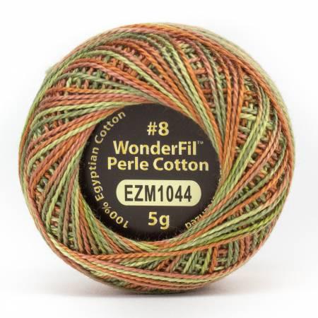 Eleganza 8wt 5-Gram Variegated Perle Cotton Ball 42yd Fall Bounty