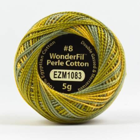 Eleganza 8wt 5-Gram Variegated Perle Cotton Ball 42yd Banksia