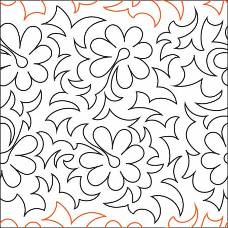 Tropical Vine Paper Pantograph 14in x 144in